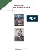 Deus e o Mal - Comentário do Livro - Clark Crampton