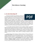 Dezvoltarea E-learning.doc