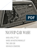 Navsup Car Wash Apr 2017