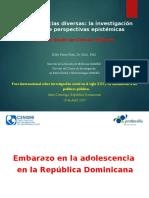 Eddy Pérez - Presentación Foro de Investigación Social