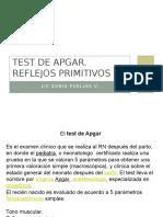 Test de Apgar y Reflejos Primitivos