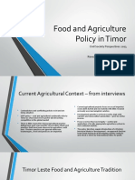 Louise Cook-Tonkin's 2013 presentation on Food and Agriculture Policy in Timor - views of civil society