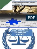 Eveniment Profesii Juridice - Prezentare PPT v2