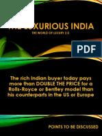 Indian Luxury 2.0