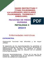 Enf Restrictiva y Obstructiva Pulmonar