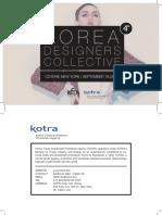 2015.9 Korea Designers Collective_ VOL 4 (Top 12 Brands)