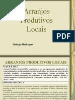 APL - Arranjos Produtivos Locais