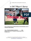 2017 Player Survey Results