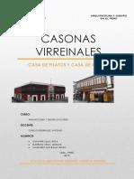 Aruitectura y Diseño en El Perú