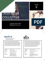 2016.2 Korea Designers Collective_ VOL 3 (Top 19 Brands)