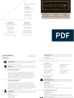 resume  2 page