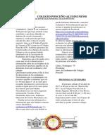 Boletin Informativo Exalumnos Colegio Ponceño
