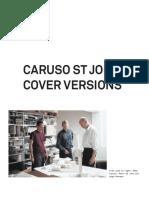 CARUSO ST JOHN, Cover Versions.pdf