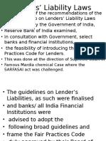Blo Lender Liability b.o. Lok Adalat