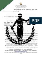 Petição CLAUDETE - Quesitos