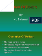 Ch5.0 Operation of Boilers
