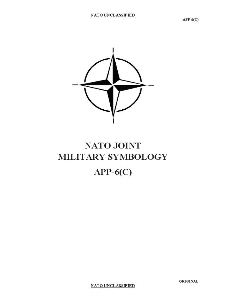Nato Joint Military Symbology APP-6(C)