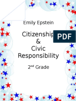 curriculum unit - citizenship and civic responsibility