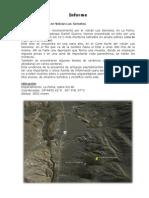 Informe Morteros en Volcan Gemelos La Poma