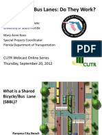 CUTR Webcast Shared Bike Bus Lanes 09.20.12