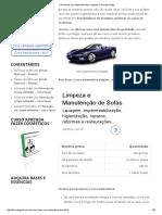Fórmula de Cera Automotiva Bem Simples _ Fórmulas Grátis