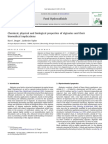 Draget & Taylor (2011) Chemical, Physhicas and Biological Properties of Alginates