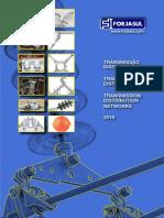 Catalogo de aisladores y ferreteria electrica para lineas electricas de media tension