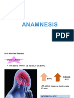 anamnesis ACV