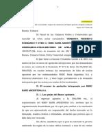A - Defensa Del Consumidor-Asistencia Viajero Mediante Tarjeta-roberts c Hsbc y Otros