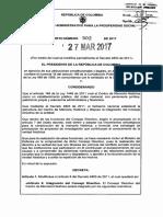 Decreto 502 de 2017