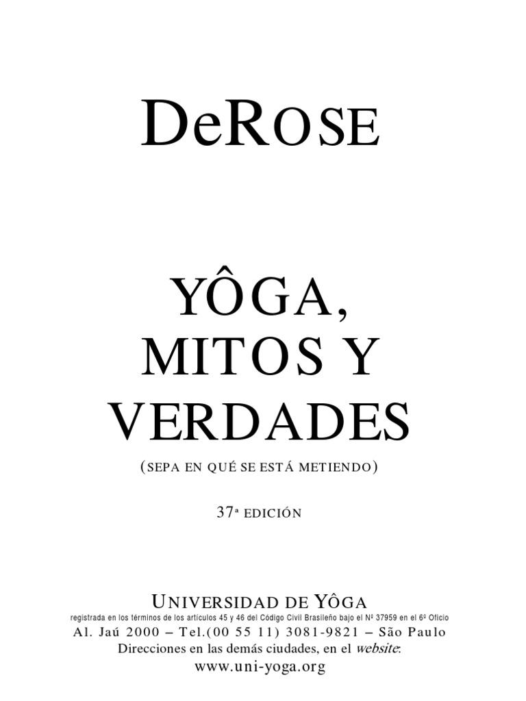 DeRose-Yoga-Mitos-y-Verdades 7f572fb1e9a0
