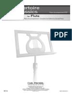 36 Repertoire Pieces Flute - Piano Accompaniment.pdf
