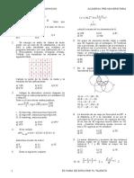 Simulacro Enero Matematica