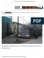 Trabajador fallece _ Diario de la Construcción