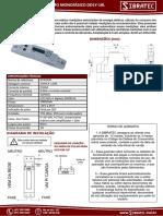 Medidor Monofasico Dds1y18l Sibratec