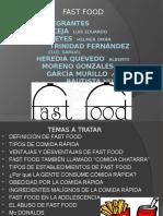 Introduccion de FAST FOOD.