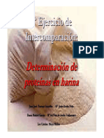 Metodo de Medicion de Proteinas en Harina