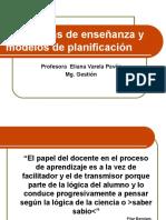 Clase 9 Modelos de Estrategias y Planificacion de Ensenanza