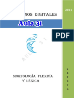 Morfologc3ada Flexiva y Lc3a9xica