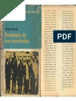 Fanon, Frantz - Sociología de Una Revolución, Ed. Era, 1968