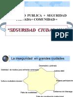 Seguridad Ciudadana Base de La Convivencia y Desarrollo y Social