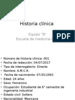 Historia Clinica Aldo