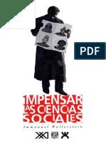 97607790 Wallerstein Immanuel Impensar Las Ciencias Sociales Split Merge