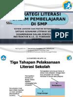 Presentasi Strategi Literasi Dalam Pembelajaran SMP KP1-220217