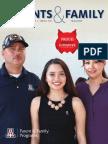 University of Arizona Parents & Family Magazine, Spring 2017