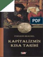 Fernand Braudel Kapitalizmin Kısa Tarihi Say Yayınları
