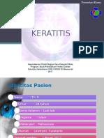 Preskas Keratitis- Fenti Pptx