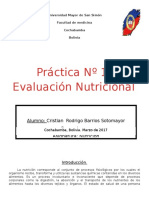 Práctica Nº1 Evaluación Nutricional