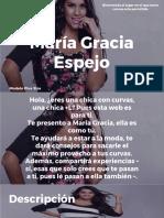 María Gracia Espejo