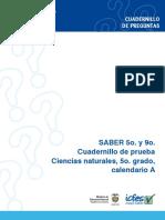 Prueba de ciencias naturales - Grado 5 calendario a, 2009 (1).pdf